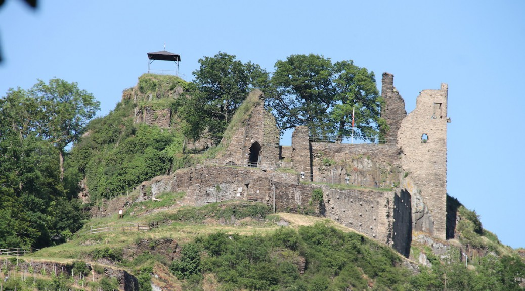 Die Ruine von Burg Are / Foto: Burgerbe.de