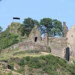 Burg Are: Tödlicher Hubschrauberabsturz bei Sanierung
