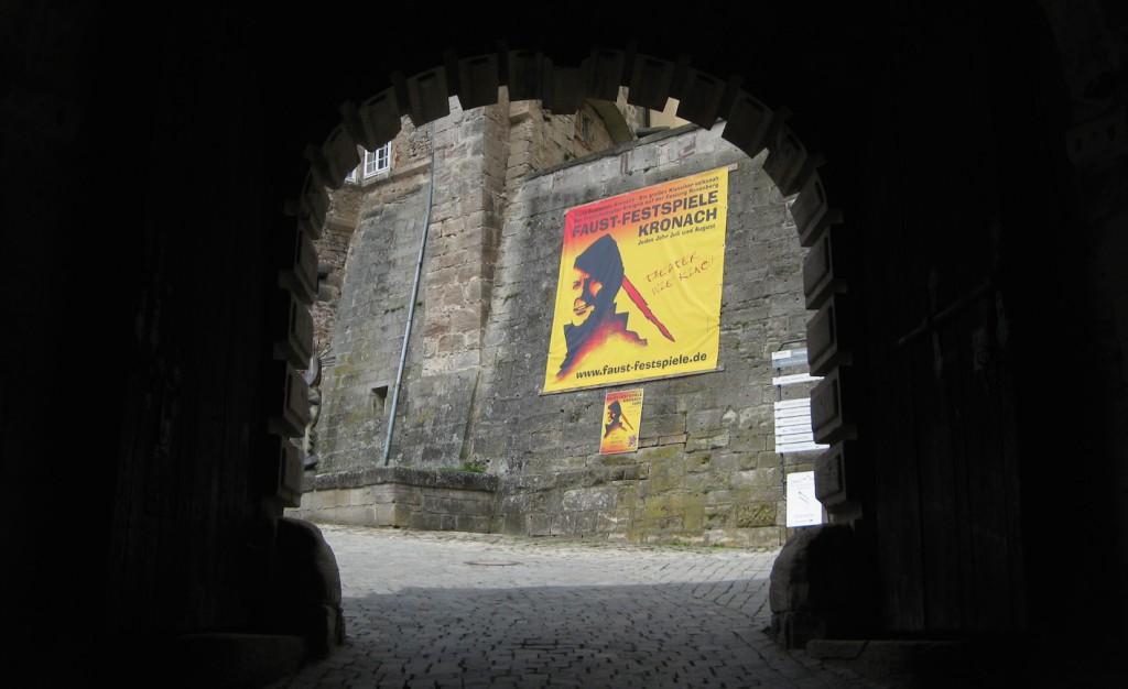 Werbung für die Faust-Festspiele
