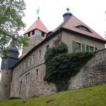 Schloss Elgersburg: Nie erobert und gut für Turmfalken