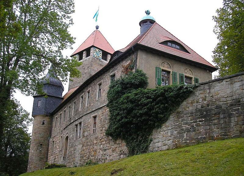 Schloss Elgersburg / Foto: Wikipedia / Michael Sander / CC-BY-SA 3.0