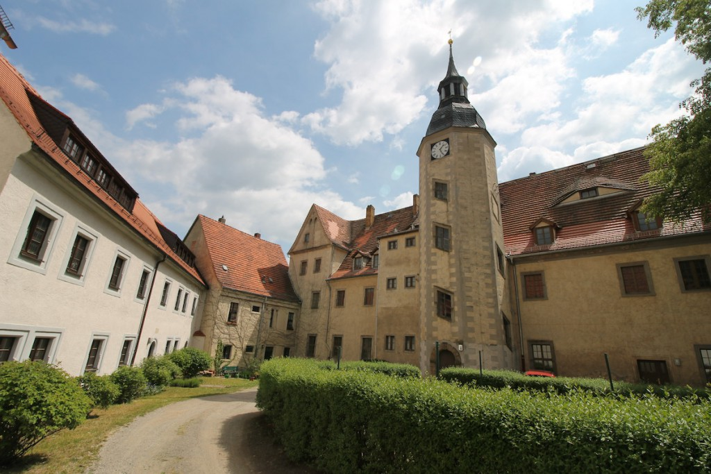 Schloss Nossen: Der Innenhof
