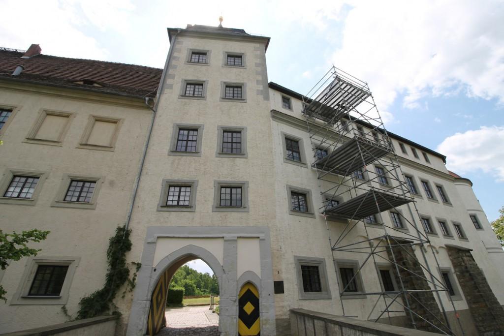 Das Tor zu Schloss Nossen