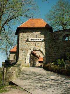 Tor zur Elgersburg / gemeinfrei