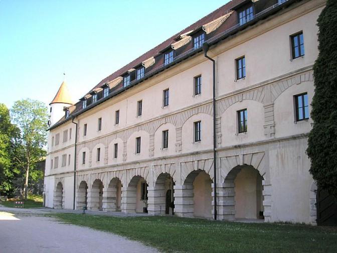 Festung Wülzburg:  Torflügel des Schlossbaus / Foto: Wikipedia / Dark Avenger / CC-BY-SA 3.0
