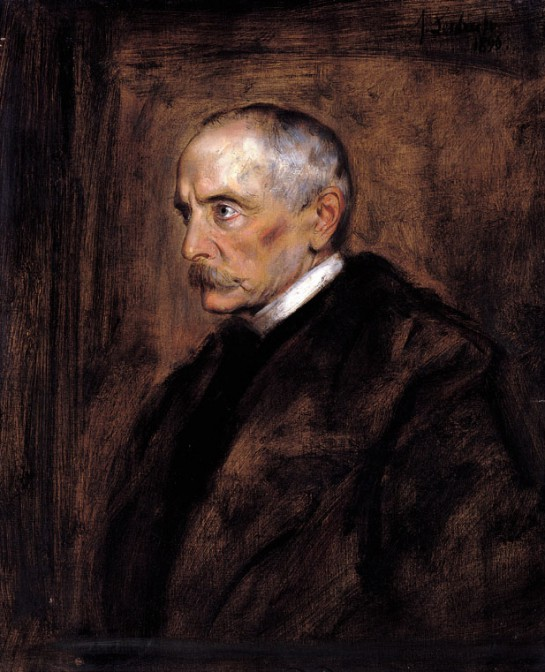 Chlodwig zu Hohenlohe-Schillingsfürst als Reichskanzler 1896 / Portrait von Franz von Lenbach / gemeinfrei
