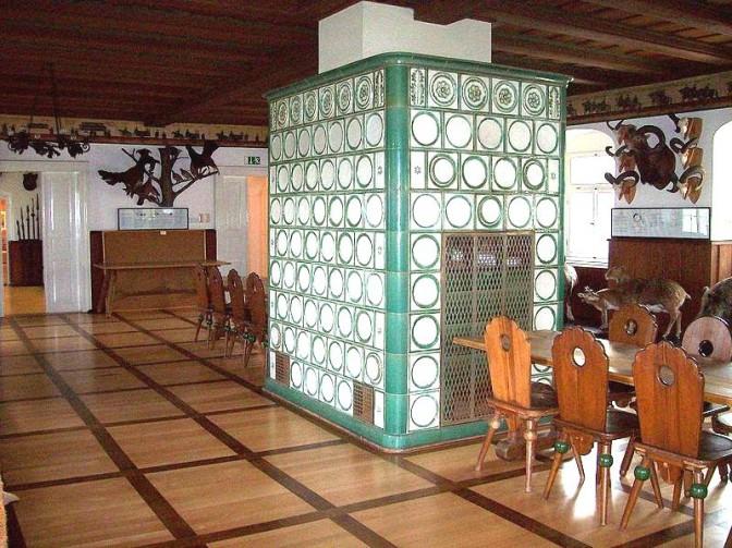Der Jagdsaal im Schloss / Foro: gemeinfrei