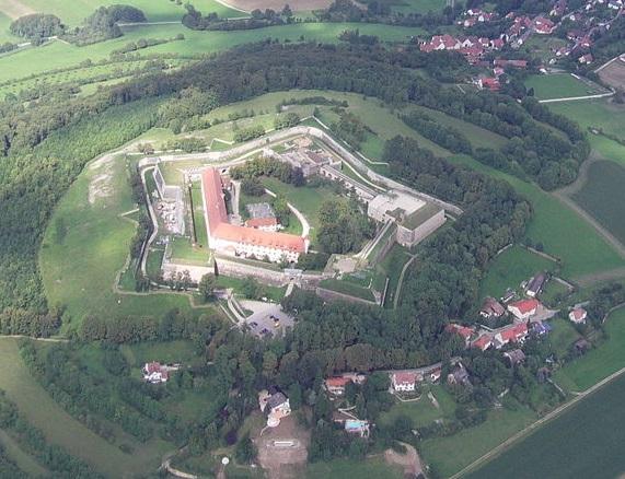 Luftbild der Wülzburg / Foto: Wikipedia / Myratz / CC-BY-SA 3.0