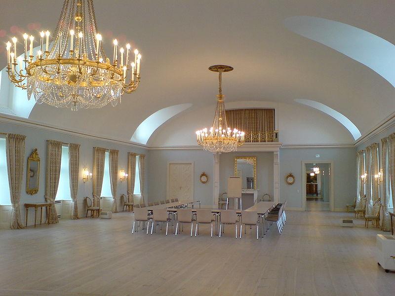 Der Rittersaal von Schloss Plön / Foto: Wikipedia / PodracerHH / CC-BY-SA 3.0