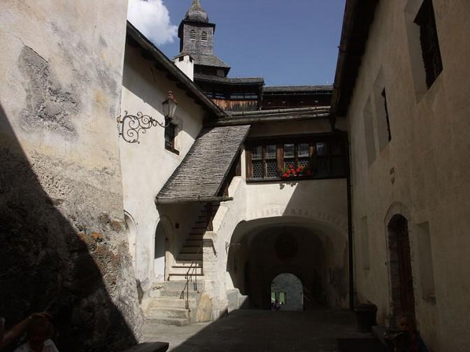 Das Innere von Schloss Tarasp / Foto: Wikipedia / Shesmax / CC-BY-SA 3.0