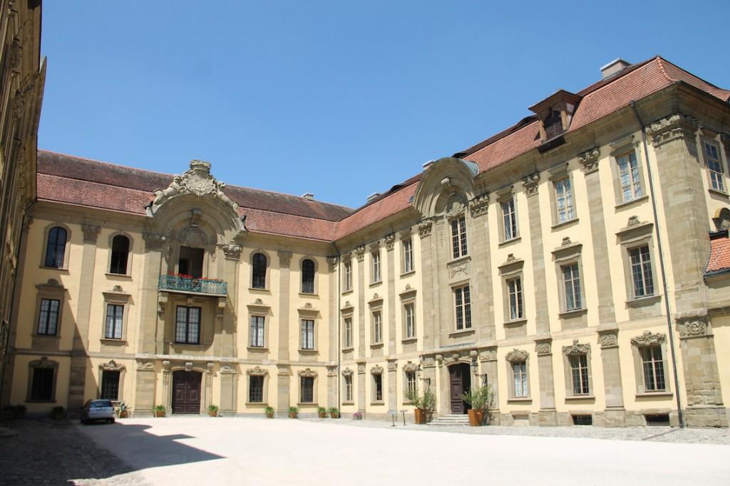 Das heutige Schloss Schillingsfürst ist der vierte Bau an dieser Stelle.