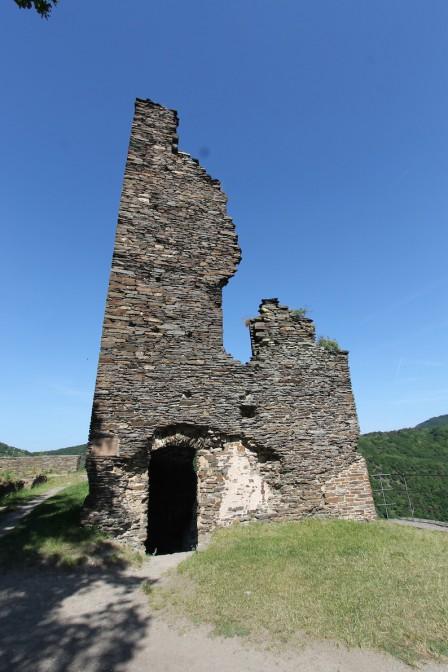 Burg Are: Würdenträger logierten in der Bischofskammer im Turm,
