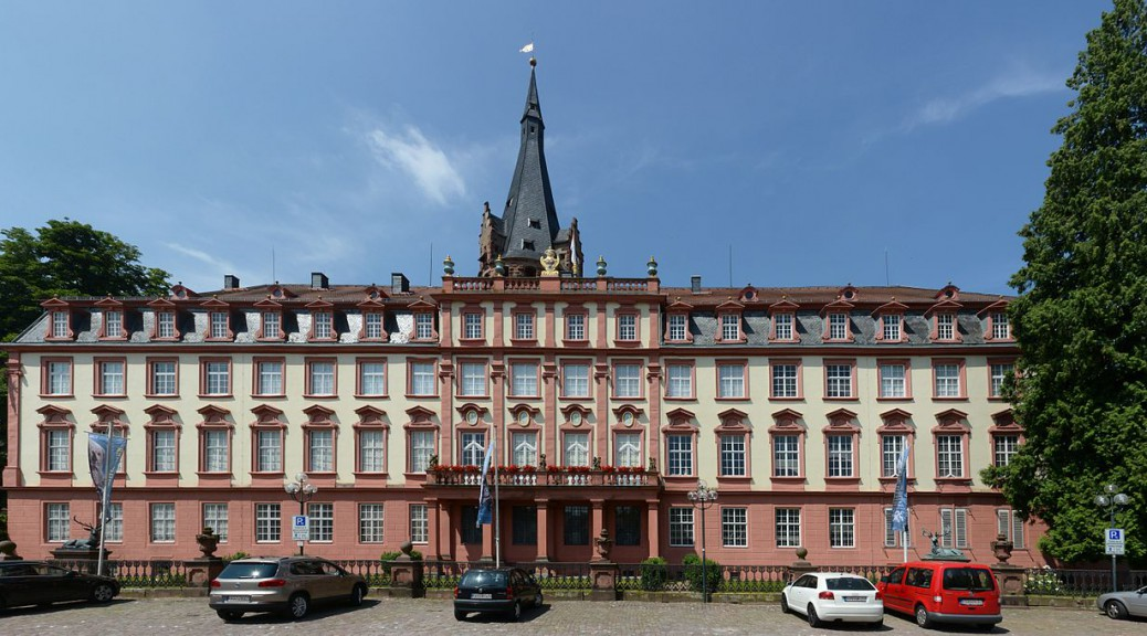 Schloss Erbach / Foto: Wikipedia / Hubert Berberich / CC-BY-SA 3.0