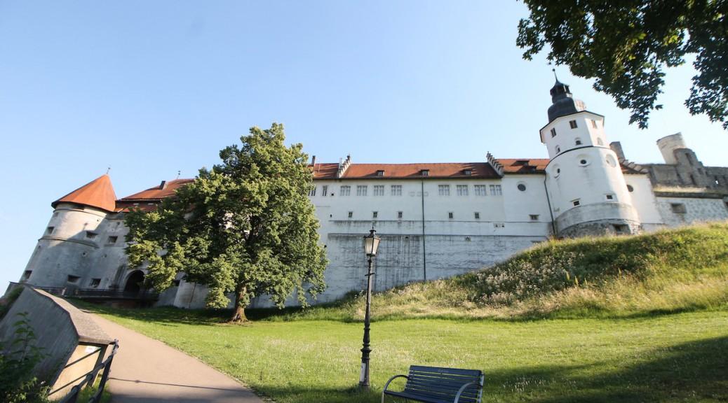 Schloss Hellenstein über Heidenheim / Fotos: Burgerbe.de