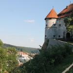 Schloss Hellenstein: Verletzte bei Steinwurf