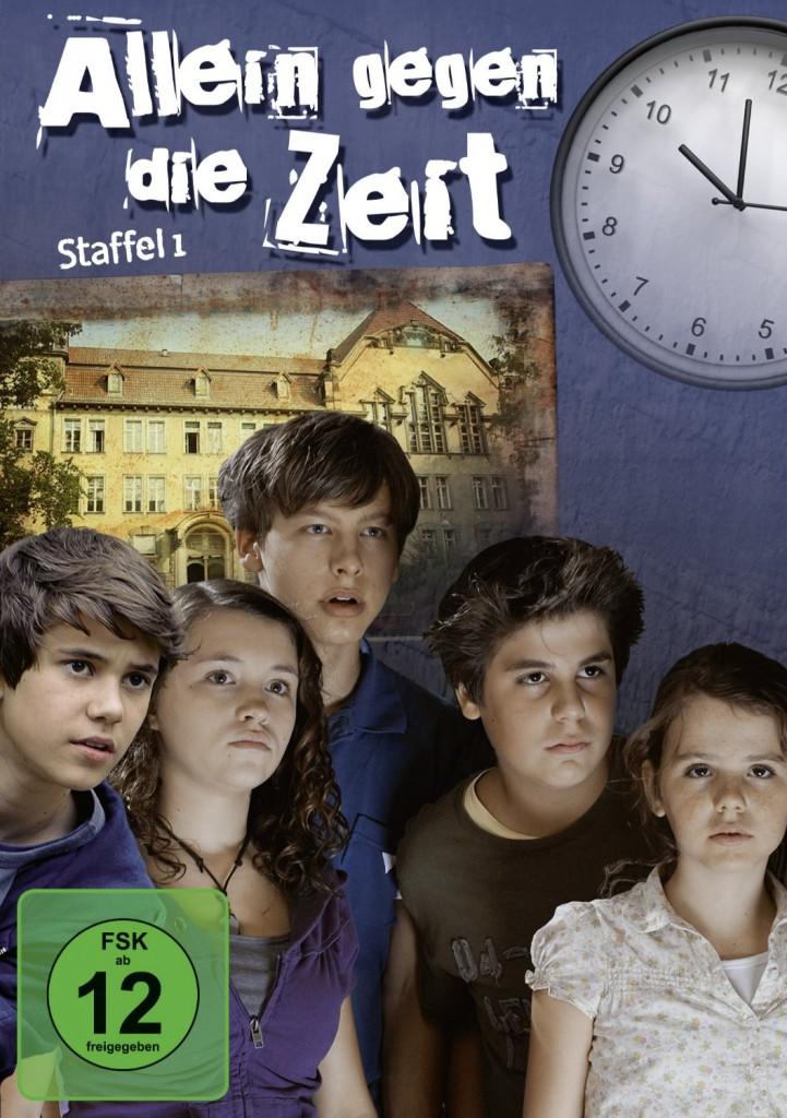 """""""Allein gegen die Zeit"""": Cover der DVD mit der  ersten Staffel von 2010 / Bild: Amazon"""