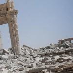 "Palmyra: Bilder zeigen vom ""IS"" gesprengten Baaltempel"