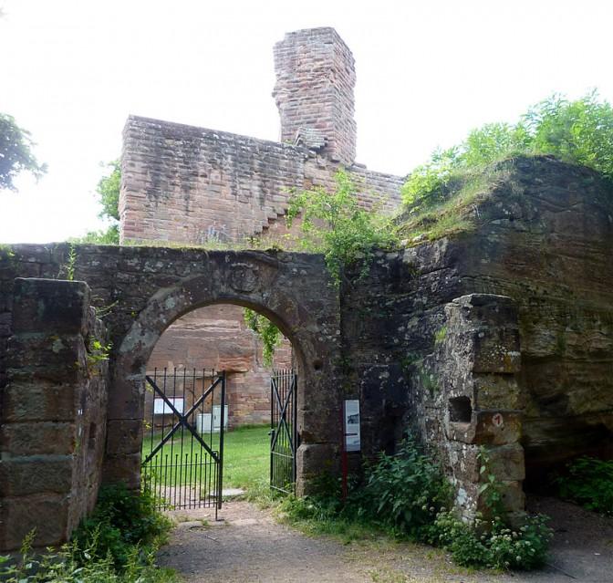 Eingang zum Zwinger der Burg / Foto: gemeinfrei