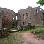 Burg Hohenecken von Vandalen und Dieben heimgesucht