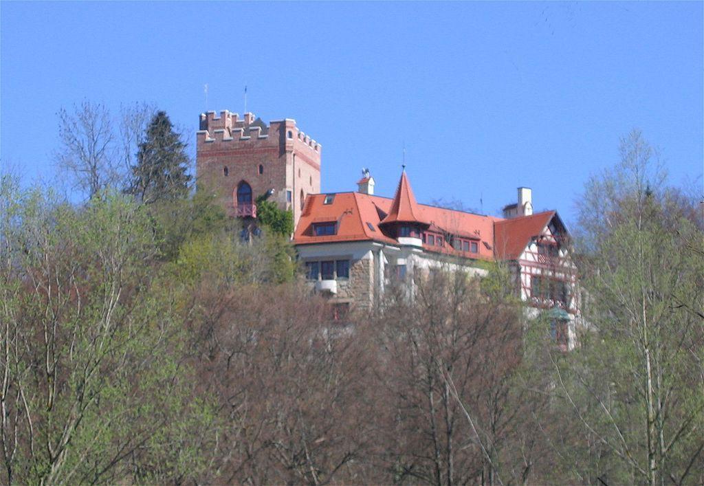 Burg Schwaneck Foto: Wikipedia  / Rufus 46 / CC-BY-SA 3.0