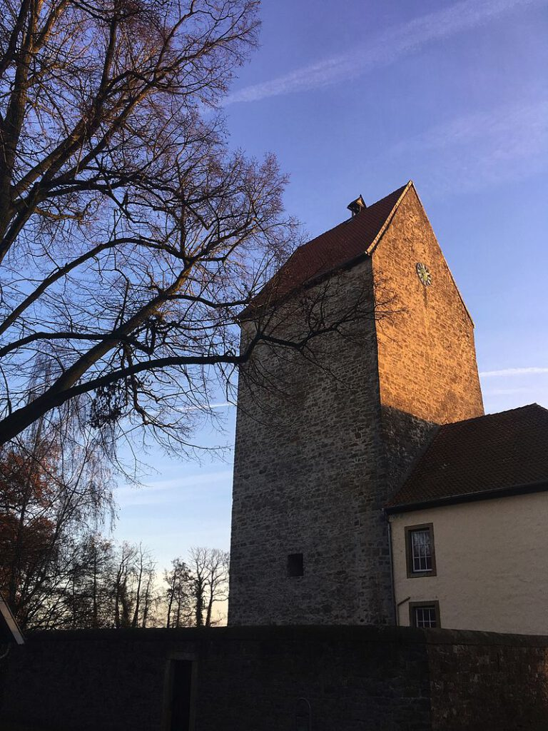 Bergfried von Burg Wittlage / Foto: Wikipedia / Megalithicguy / CC-BY-SA 3.0