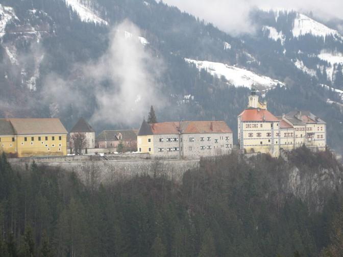 Burg Strechau bei Lassing in der Steiermark / Foto: Wikipedia / Dietersdorff / CC-BY-SA 3.0