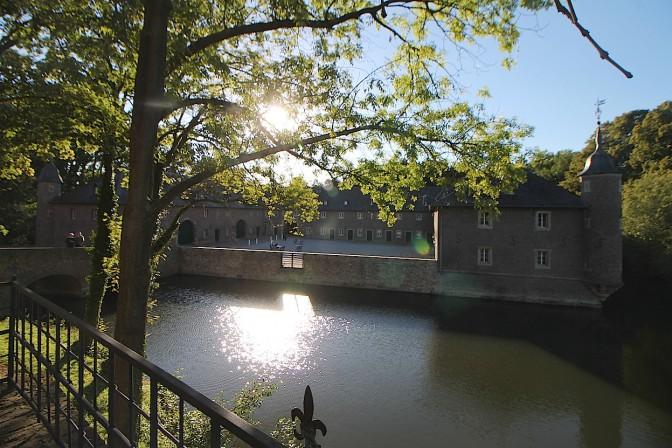 Schloss Burgau: Die Vorburg