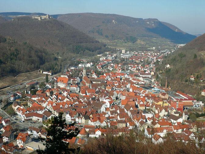Bad Urach an der Schwäbischer Alb / Foto: gemeinfrei