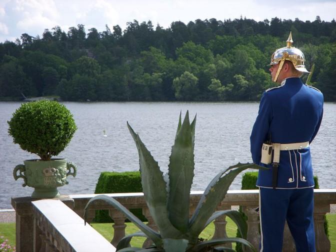 Die königlichen Wachen auf Schloss Drottningholm  / Foto: Wikipedia / Holger Ellgaard / CC-BY-SA 3.0