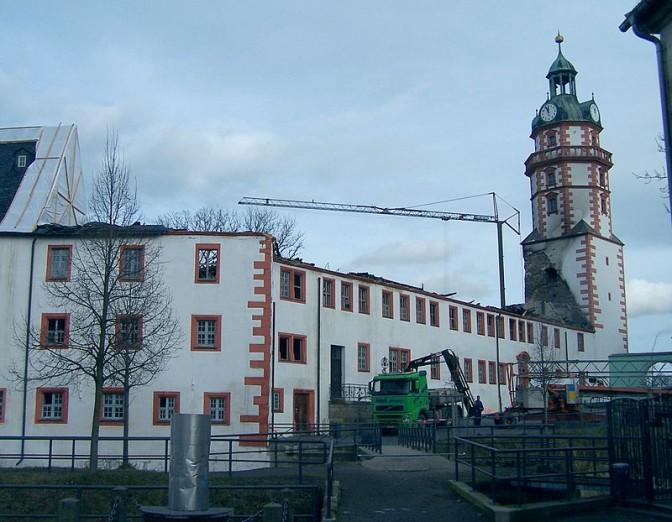Südflügel von Schloss Ehrenstein / Foto: Wikipedia / Metilsteiner / CC-BY-SA 3.0