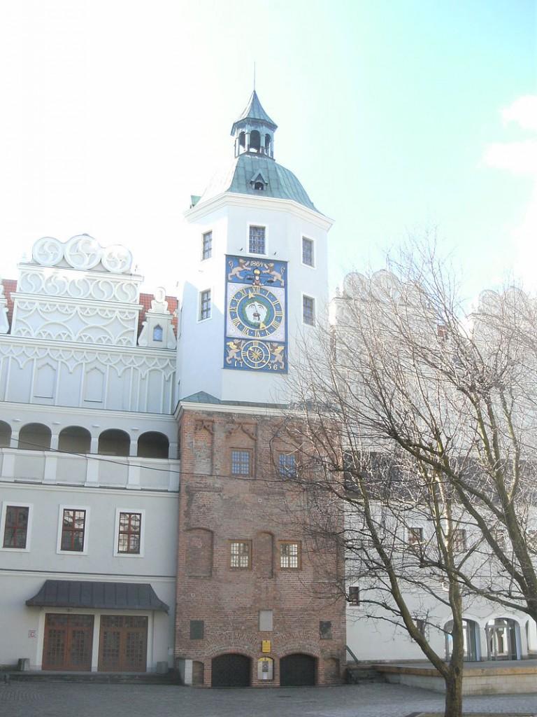 Der Uhrenturm am Südflügel / Foto: gemeinfrei
