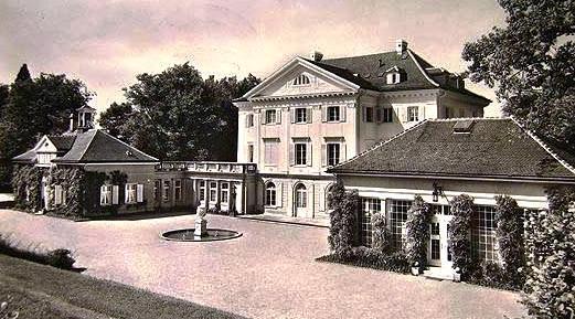 Schloss Eugensberg um 1920 / Foto: gemeinfrei