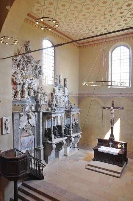 Die Epitaphe in der Schlosskirche / Foto: Wikipedia / Hoger / CC-BY-SA 3.0