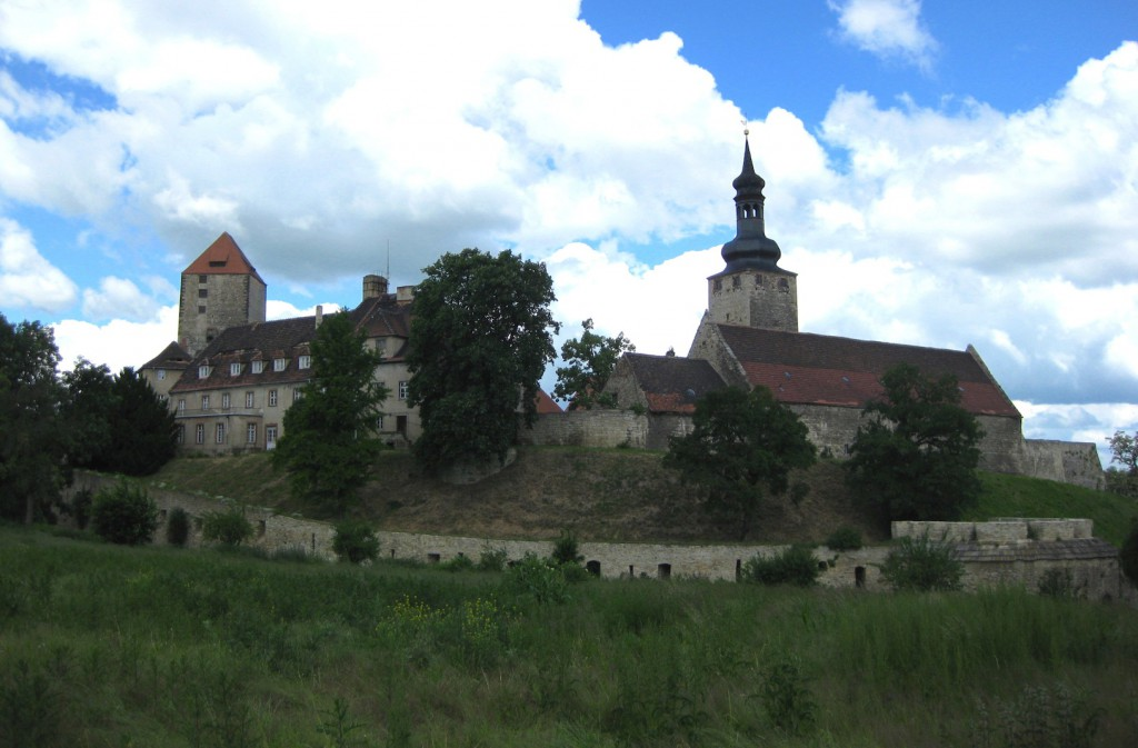Blick auf Burg Querfurt. Foto: Burgerbe.de
