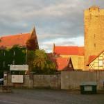 Burg Oebisfelde: Brandstiftung im Innenhof