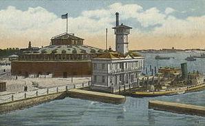 Castle Clinton in den Jahren nach 1900 als Aquarium / gemeinfrei