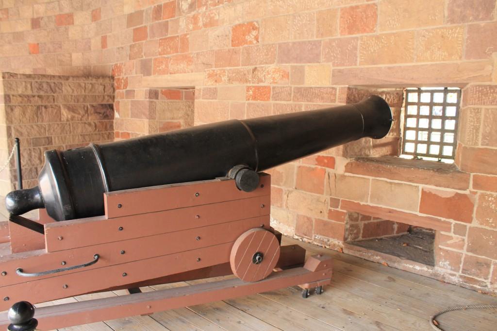 Kanone im Castle Clinton / Fotos: Burgerbe.de