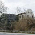 Schloss Ebelsbach: Notsicherung nach Brandstiftung