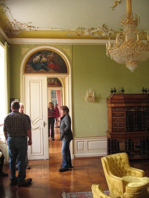 Foto einer Schlossbesichtigung von 2009 / Foto: gemeinfrei