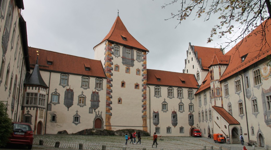 Hohes Schloss Fuessen Gefaengnisturm