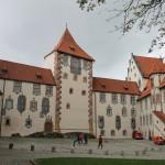 Hohes Schloss Füssen: Dachbalken angefault