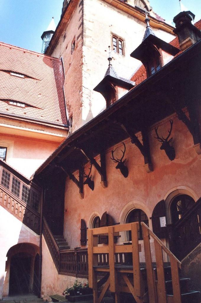 Der Innenhof: Gestaltet in den 1880er Jahren / Foto: Wikipedia / Norbert Kaiser / CC-BY-SA 2.5