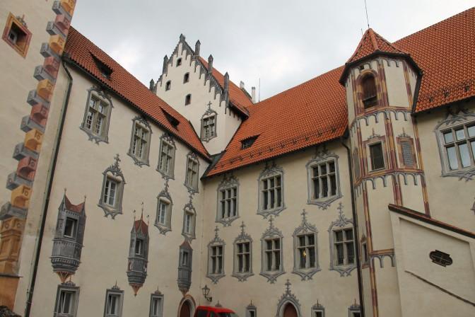 Illusionsmalerei am Hohen Schloss Füssen