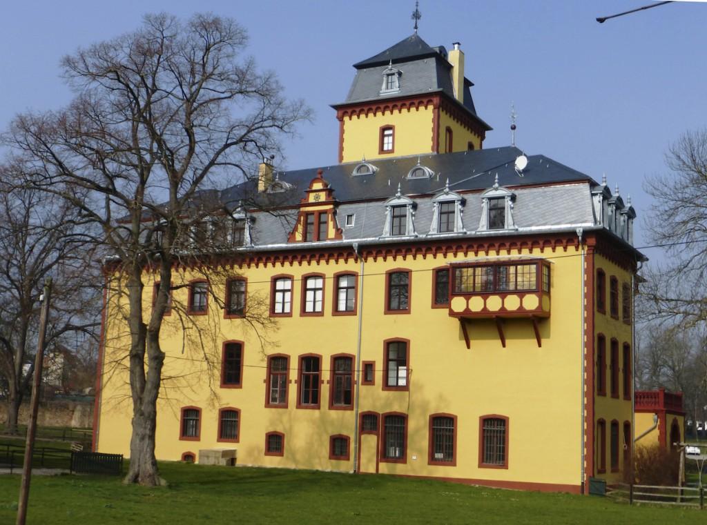 Schloss Wachendorf in Mechernich / © Deutsche Stiftung Denkmalschutz / Linge / Foto oben: Wikipedia / W.Mechelke / CC-BY-SA 3.0
