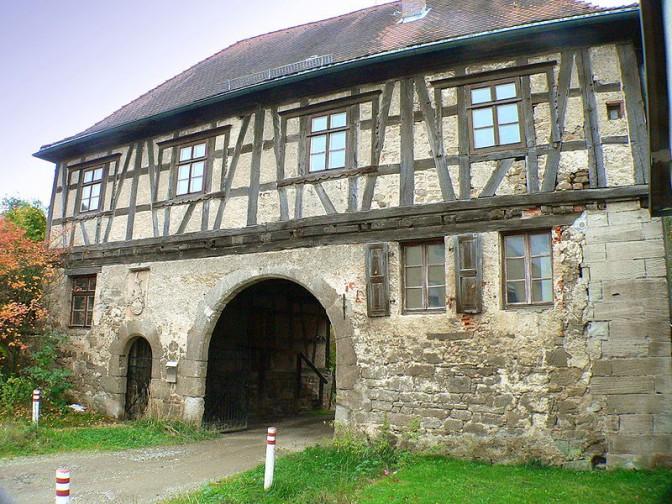 Torhaus von Schloss Ebelsbach / Foto: Wikipedia / Presse03 / CC-BY-SA 3.0