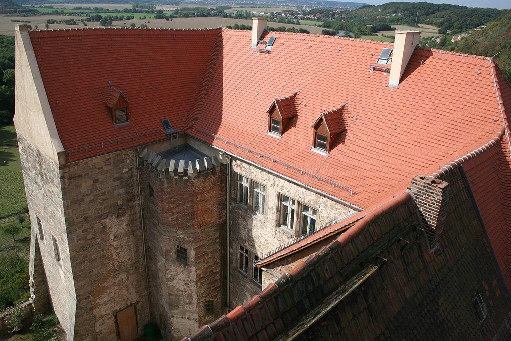 Schloss Goseck: Blick in den Hof / Foto: Wikipedia / Einsamer Schütze / CC-BY-SA 3.0