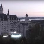 Star Wars-Invasion: Millenium-Falke über Schloss Neuschwanstein