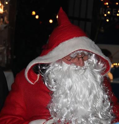 Das Leben als Weihnachtsmann hat seine Tücken Symbofoto: Astrid Götze-Happe  / pixelio.de