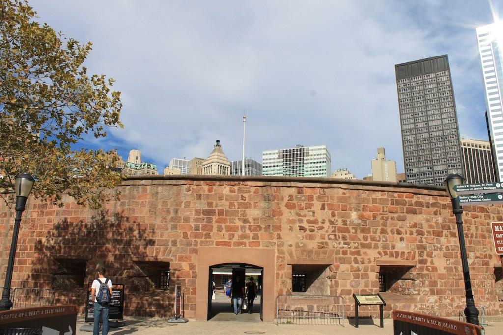 Castle Clinton liegt heute im Battery Park