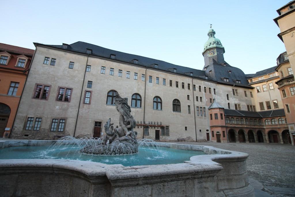 Innenhof von Schloss Sondershausen / Foto: Burgerbe.de